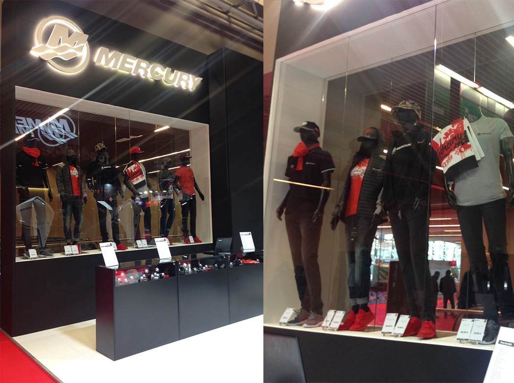 cyber-Wear will present the Mercury Merchandise Collection at the Nautic  Paris International Boat Show 59d0beac1